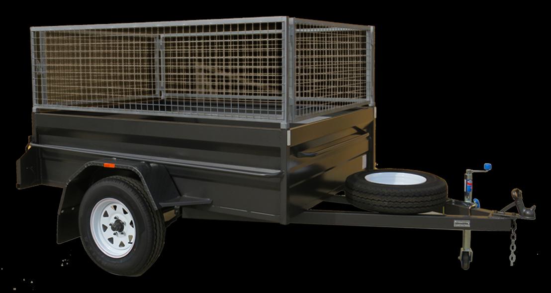 cage trailers brisbane