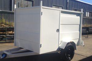 single axle enclosed trailers for sale sunshine coast