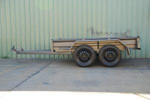 heavy duty tandem trailer