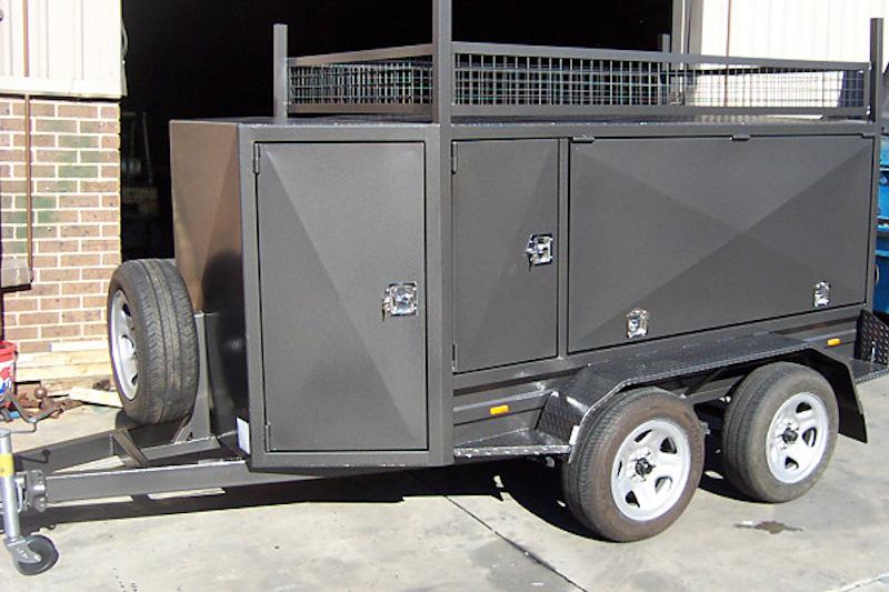 tandem axle enclosed trailers for sale brisbane