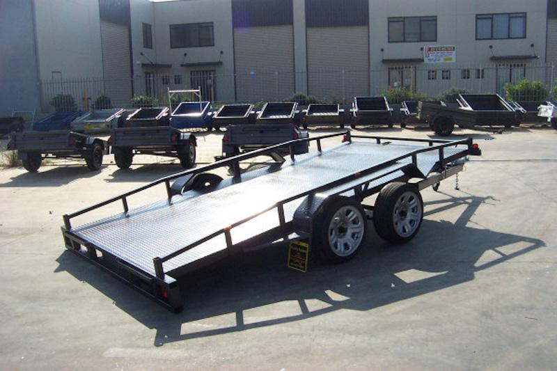 tandem car trailers sunshine coast