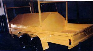 7x4 tandem axle tradesman trailer for sale sunshine coast