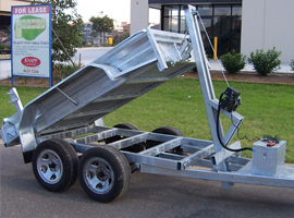 tipping trailers for sale