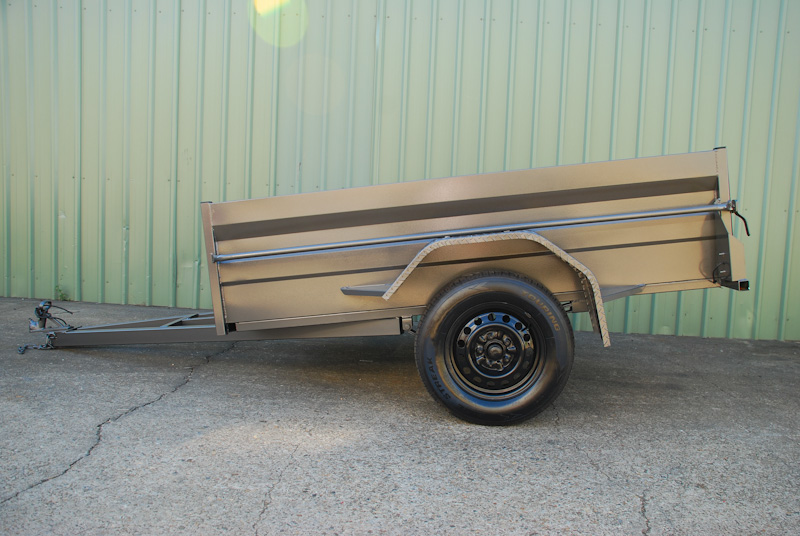 high side box trailer with 21 inch