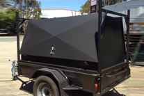 single axle tradesman trailer for sale sunshine coast