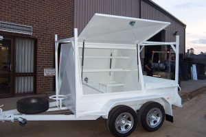 7x4 tandem axle tradesman trailer for sale Brisbane